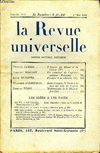 la-revue-universelle-tome-9-n3-francis-jammes-lamour-lesmuses-et-lachasse-iii-adolphe-boschot-un-cre