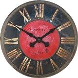 Lascelles of London Geschützturm Wanduhr, groß, 60 cm