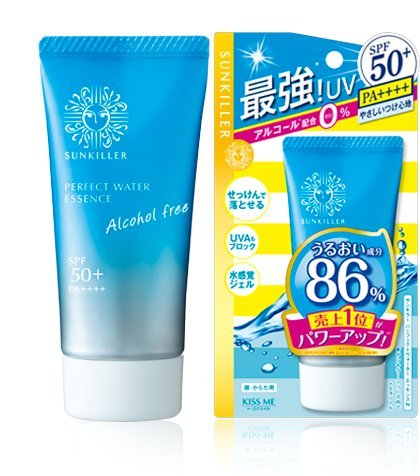Sun Killer Isehan Sunscreen Perfect Water Essence N - 50g (Green Tea Set)