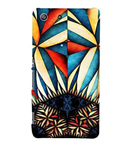 EPICCASE Edgy cool Mobile Back Case Cover For Sony Xperia M5 (Designer Case)