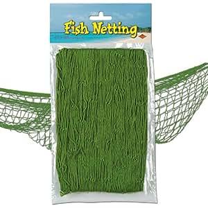 Fischernetz zur Dekoration 370 cm x 120 cm grün