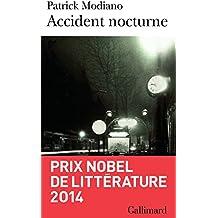 Accident nocturne (Folio)