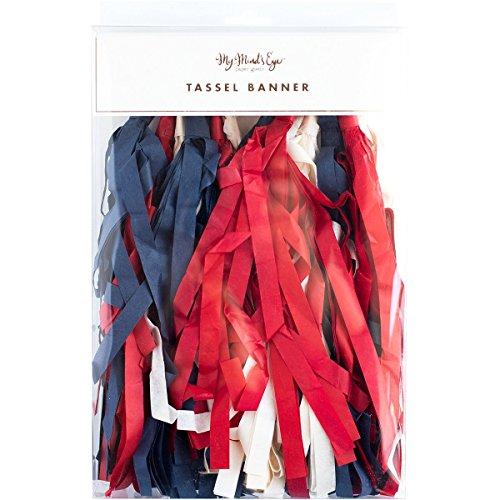 Stars & Strips Tassel Banner-