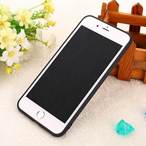 Ouneed® Für iPhone 8 plus 5.5 Zoll Hülle , Christmas Gift TPU Silikon Schutz Handy Hülle Case Tasche Silikon Crystal Case Durchsichtig Schutzhülle For iPhone 8 plus 5.5 Zoll (A) F