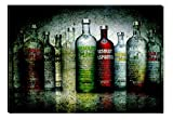 Startonight Glasbild Absolute, Bild auf Acrylglas Muster Modern Dekoration Fertig zum Aufhängen 60 x 90 cm