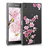 kwmobile TPU Silicone Crystal Back Case for Sony Xperia Z5 Compact