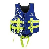 IvyH Kids Swimming Vest - Children Kids Float Jacket Vest Swimming Training Floating Swimsuit Buoyancy Swimwear Swimming Aid Vest