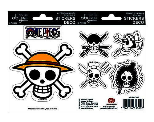 ABYstyle - Stickers - One Piece Pirates Flag 16x11cm - 3760116310215