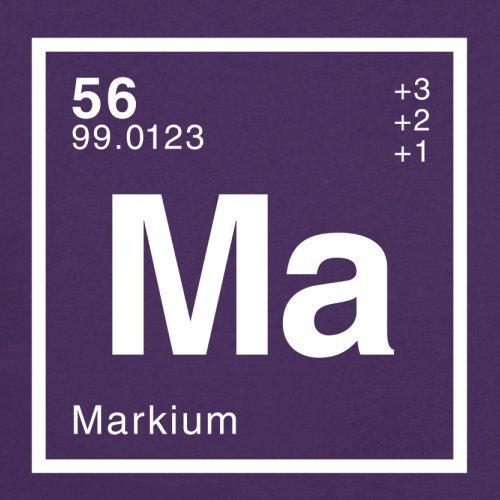 Mark Periodensystem - Herren T-Shirt - 13 Farben Lila