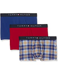 Tommy Hilfiger Trunk Check -  Boxer - Lot de 3 -  Homme