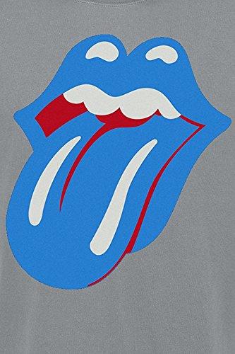 The Rolling Stones Classic Tongue T-Shirt schwarz Charcoal