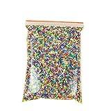 Da.Wa 1 Pakete Polystyrol Styropor Perlen Kleine Schaum Bälle Slime Perlen Fit für Slime Making Art DIY Handwerk, Dia 2.5-3.5mm Approx13000-14000 Bälle, Bunt