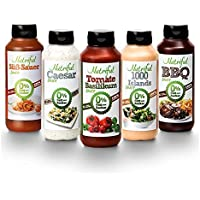nutriful Low Calorie Sauce – 265 ml Marteau goût