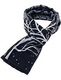 b0013756b4e1 Asdsda Automne et hiver foulard décontracté business écharpe autour du  foulard brossé simulation arbre ...