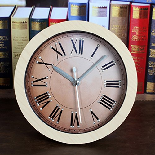 HFF Retro Hacer Antiguo Remache Despertador Reloj