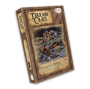Mantic Games MGTC108 TerrainCrate: Dungeon Debris, Multi vídeo Juego