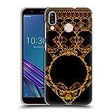Head Case Designs Offizielle Sven Fauth Gold Maori Ruckseite Hülle für ASUS Zenfone Max (M1) ZB555KL