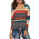 Lover-Beauty Maglietta Donna Camicetta Manica Corta T-Shirt Cotone Estivo Senza Spalline Stampa Piccola Fata Sciolto Casuale Camica Tops Miscelazione del colore3 M