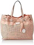 XTI Damen 85961 Shopper, Pink (Nude), 43x29x16 Centimeters