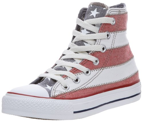 Converse Chuck Taylor All Star Sp Usa F Hi, Baskets mode mixte adulte Blanc/rouge/bleu