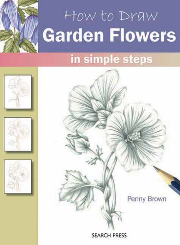 How to Draw Garden Flowers Cover Image