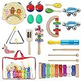 YISSVIC Juguetes de Instrumentos Musicales para Niños 20 Pzas, Juguetes...