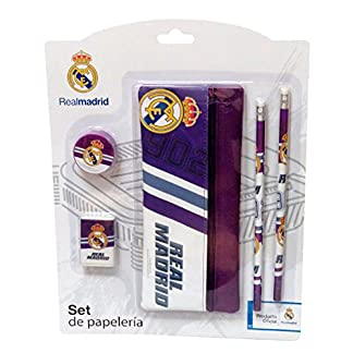 Real Madrid- 0 Set con portatodo, 0 (CYP Imports GS-406-RM)