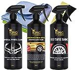 King of Sheen - Kit di pulizia dell'automobile esterna