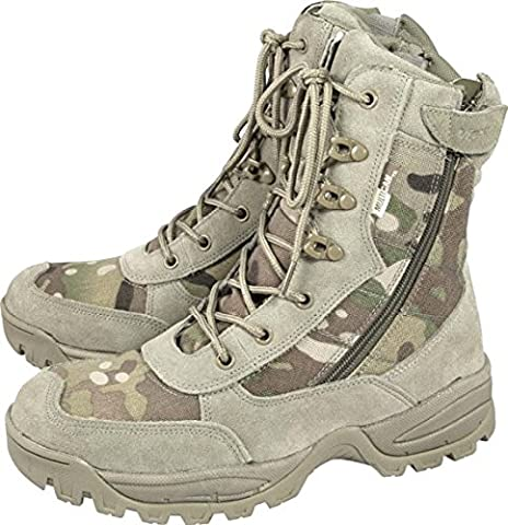 Viper Multicam Special Ops Patrol Boots Desert Camo Mtp Combat Army Military (UK 7)