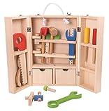 Tooky Toy – Juego de carpintero, caja de herramientas. Juguete...