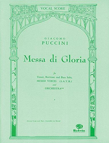 Messa Di Gloria Vocal Score (Belwin Edition)