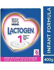 Nestlé Lactogen 1 Infant Formula Powder, Upto 6 months - 400 g