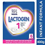 #7: Nestle Lactogen 1 Infant Formula Powder, Upto 6 months, 400g Pack