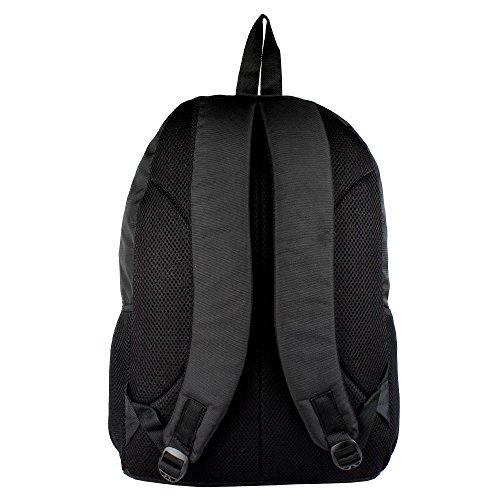 The Blue Pink Polyester 12 Ltr Black Laptop Backpack