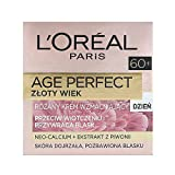 L'Oreal Paris DERMO EXPERTISE AGE PERFECT GOLD AGE 60+ ROSE DAY CREAM mature skin, 1er Pack (1 x 50 ml)