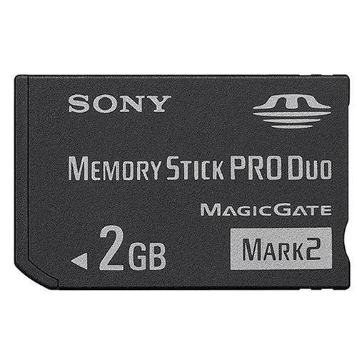 Sony Memory Stick Pro Duo 2GB Mark2 PSP Speicherkarte -