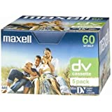 Maxell MAX-DVM60P5 - Cinta de audio/video