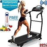 PrestigeSports XMPRO Dynamic Treadmill - 2019 Model Motorised Running Machine, Powerful Motor 1.5CHP