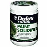 1 x Dulux® Paint Solidifier Professional DIY Waste Paint Hardener Fast Dry Universal Activator 500g