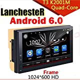 #7: Car 2 din Android 6.0 Bluetooth GPS Navigation WiFi Browser Stereo 7inch Full HD