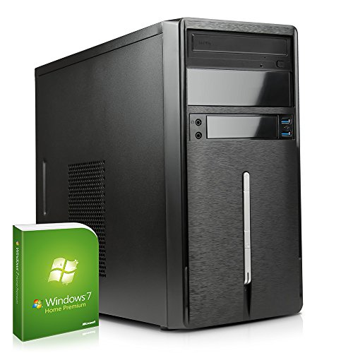 DEViLO PC 1127 - AMD FX-4300 4x 3800 MHz | 8GB DDR3-1600 | 1TB SATA3 | nVidia Geforce GT730 2048MB GDDR3, HDMI+DVI | DVD-RW | Cardreader | Gigabyte | 6-Kanal-Sound | Gigabit-LAN | 420W | Microsoft Windows 7 Professional 64-Bit