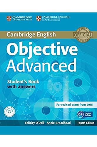 Descargar gratis Objective Advanced Student's Book with Answers with CD-ROM Fourth Edition de Felicity O'Dell