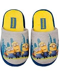 Minions Minion Niños Zapatillas–Pantuflas Tallas 27–34nuevo