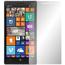 "2 x Slabo protector de pantalla Nokia Lumia 930 lámina protectora de pantalla lámina protectora (protector de pantalla reducido, a causa de la pantalla curvada) ""Ultra Transparente"" invisible MADE IN GERMANY"