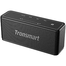 Tronsmart Mega Haut-Parleur Bluetooth Enceinte sans Fil écran Tactile TWS & NFC, Autonomie Environ de 15Heures,Mains Libres Téléphone, Carte TF Support