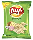 #9: Lay's  Potato Chips - American Style Cream & Onion Flavour - 30g Pack