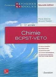 Chimie BCPST-Véto 1re année