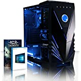 VIBOX Tower 32 Gaming PC Computer with War Thunder Game Voucher, Windows 10 OS (3.9GHz AMD A4 Dual-Core Processor, Radeon 8370D Graphics Chip, 8GB DDR3 1600MHz RAM, 1TB HDD)