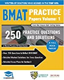 BMAT Practice Papers Volume 1: 4 Full Mock Papers, 250 Questions in the style of the BMAT, Detailed Worked Solutions for Every Question, Detailed Essay ... BioMedical Admissions Test (English Edition)
