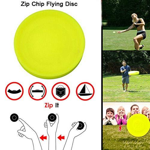 GHONLZIN Fliegende Scheibe, Mini Frisbee 2019 Mini Pocket Flexible Soft New Spin im Fangspiel